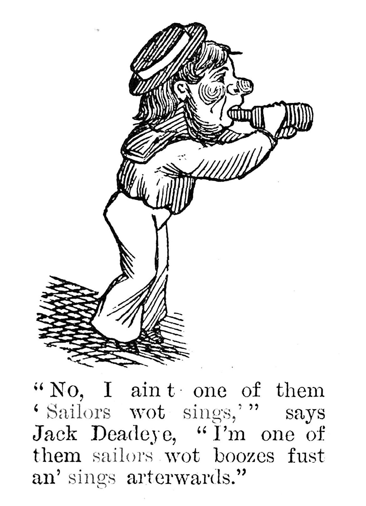 Detail from cartoon in Sydney Punch, 9 June 1888