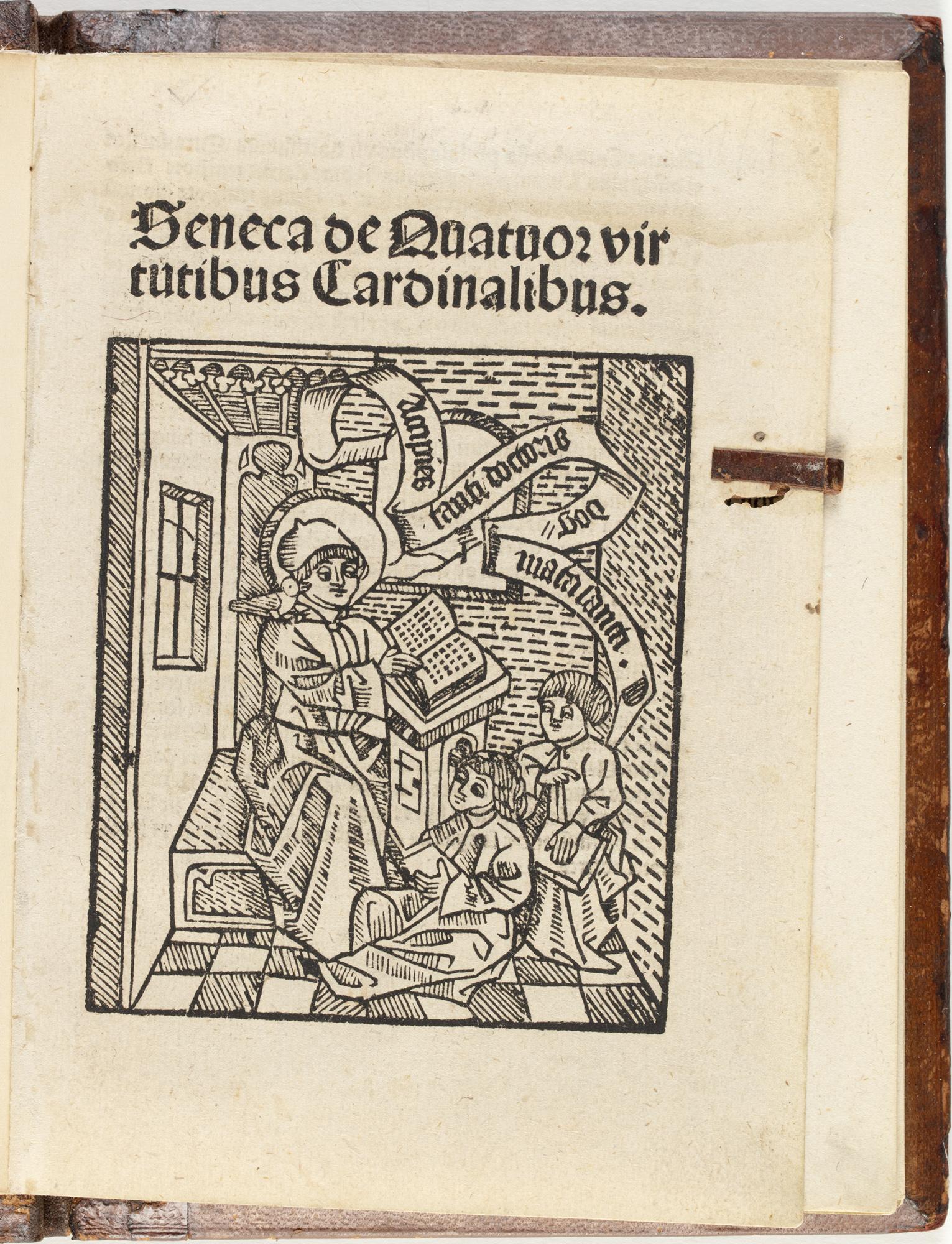 Seneca De quatuor virtutibus cardinalibus.