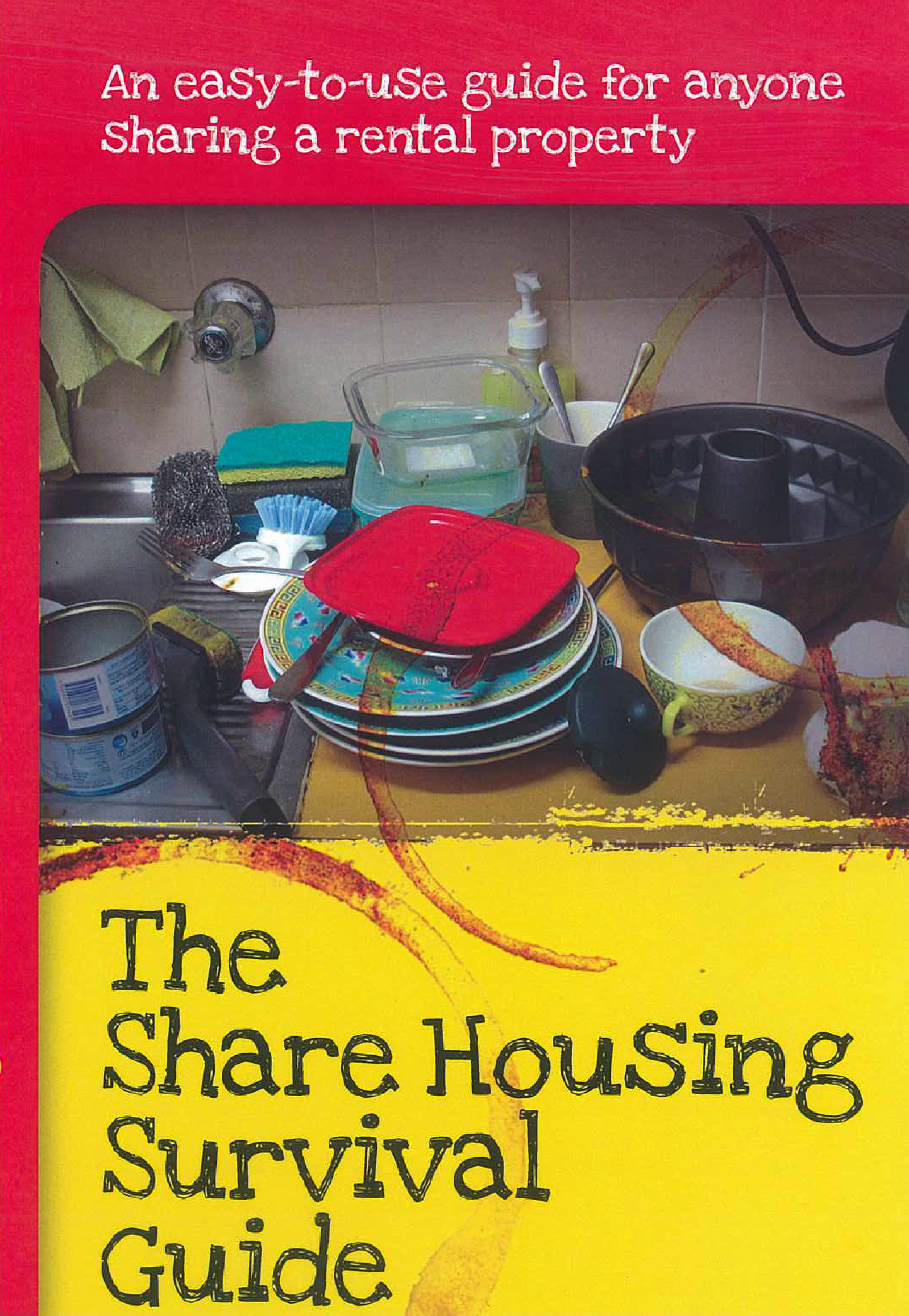Share housing survival guide Cover