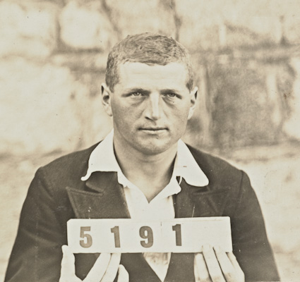 Philipp Wittmann, from Album of identification photographs of enemy aliens (civilian and prisoner of war) interned at Liverpool Camp, NSW during World War I