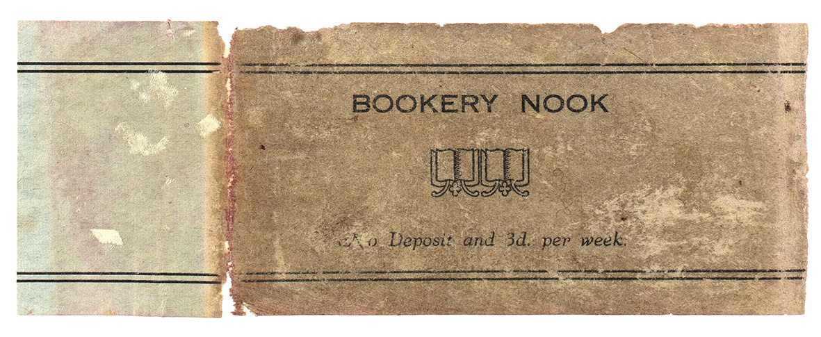 A library bookplate.