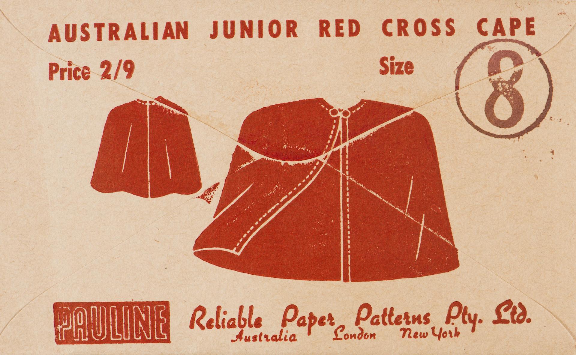 Red Cross cape