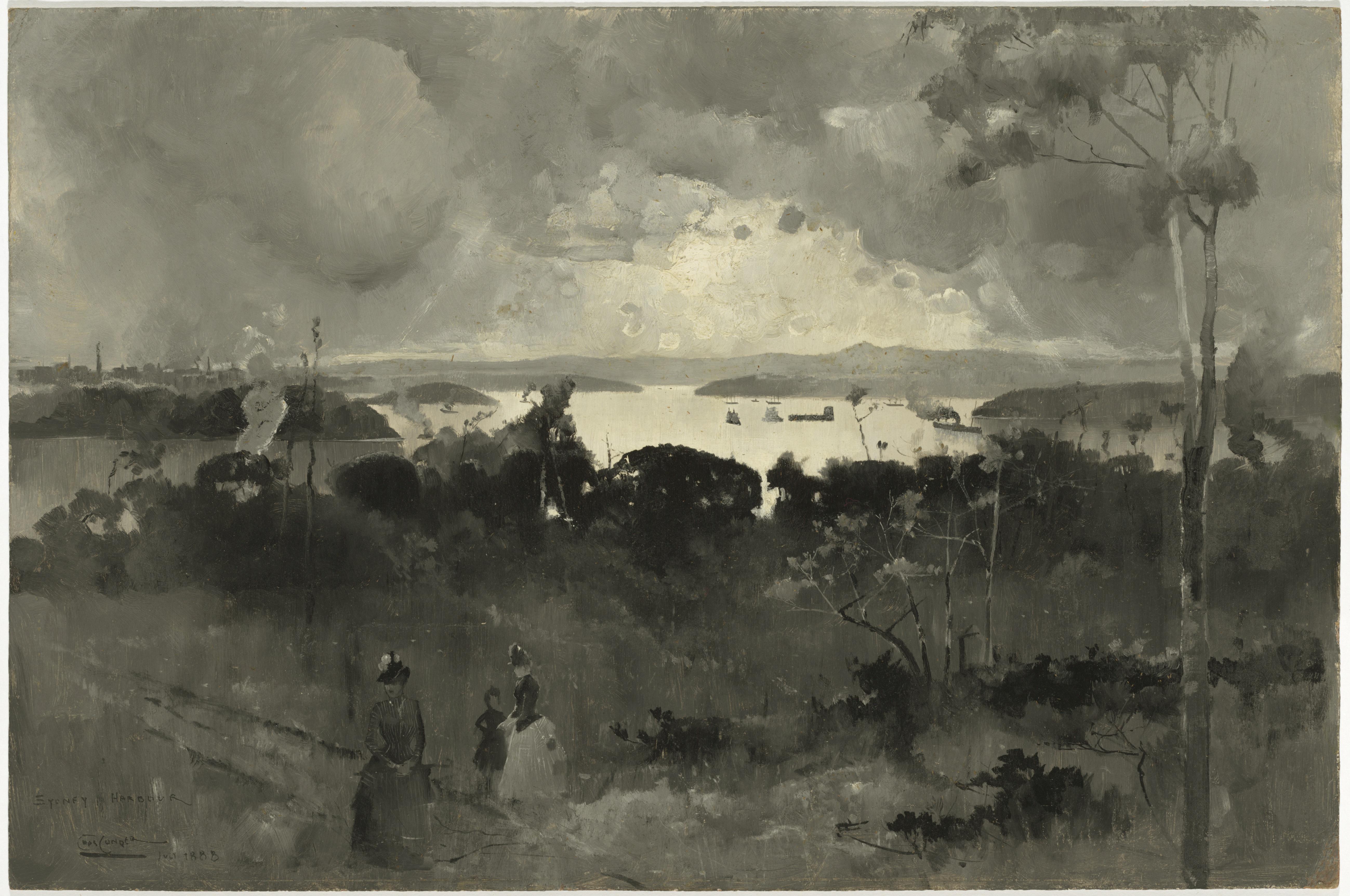 Sydney Harbour 1888, Charles Conder