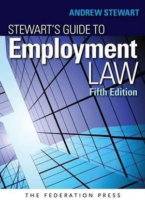 Cover for Stewarts guide to employment law. 5th ed