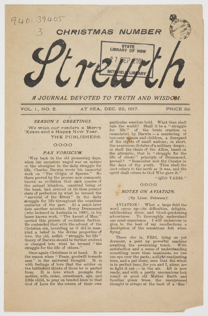 Strewth - a journal devoted to truth and wisdom