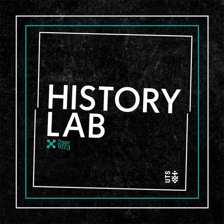 podcast logo for History Lab