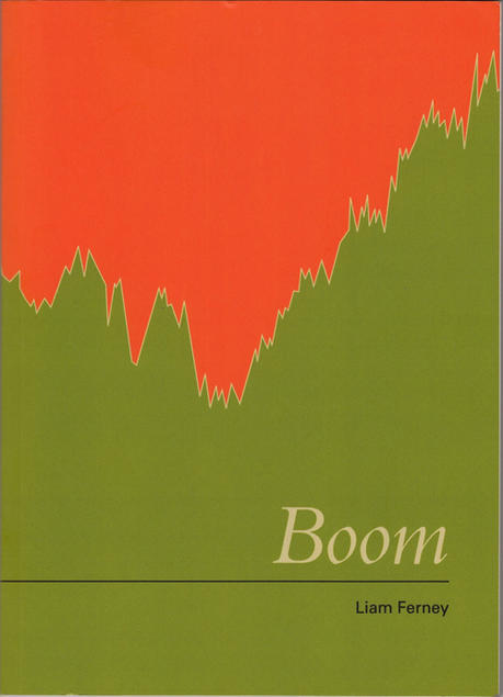Book cover of Boom by Liam Ferney