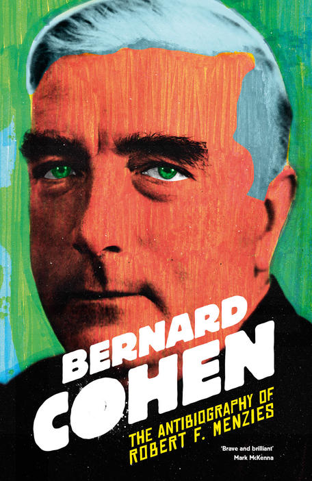 Book cover with drawing of Robert F Menzies