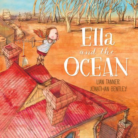 Cover image for the book Ella and the Ocean.