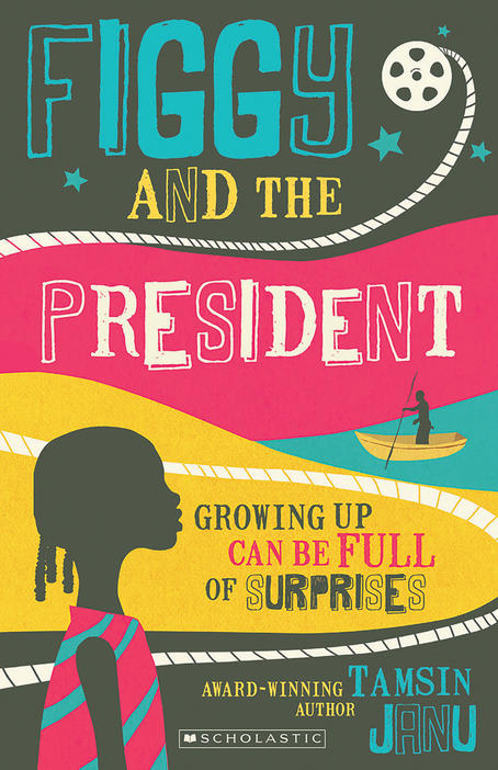 Book cover for Figgy and the President by Tamsin Janu