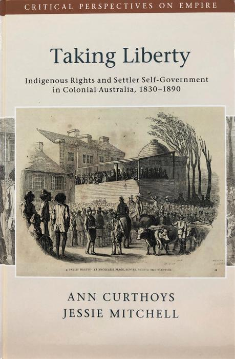 cover image of taking liberty book