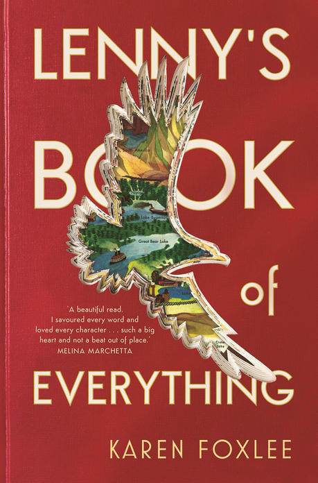 Cover image for the book Lenny's Book of Everything.