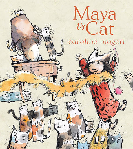 Cover image of Maya and Cat.