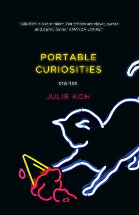 Book cover for Portable Curiosities by Julie Koh