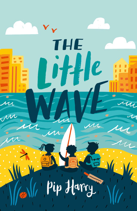 Cover image for the book The Little Wave.