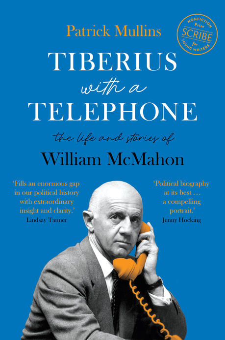 Cover image of the book Tiberius with a Telephone.