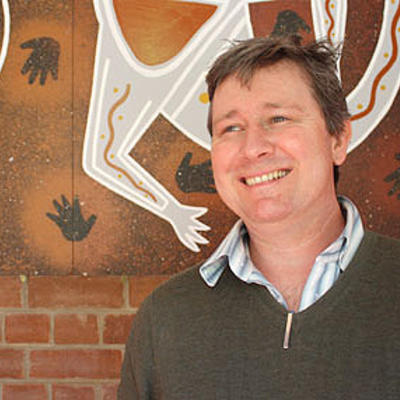 Photograph of Peter Minter