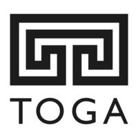 TOGA identity - a black and white garden maze