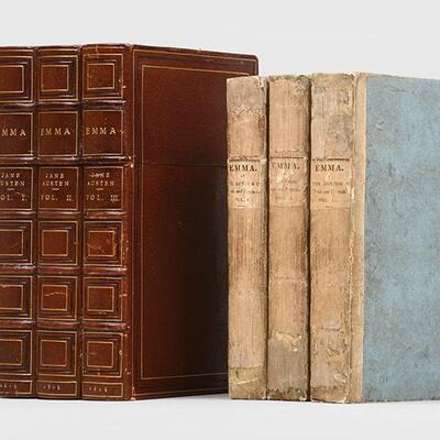 Photo of Emma books