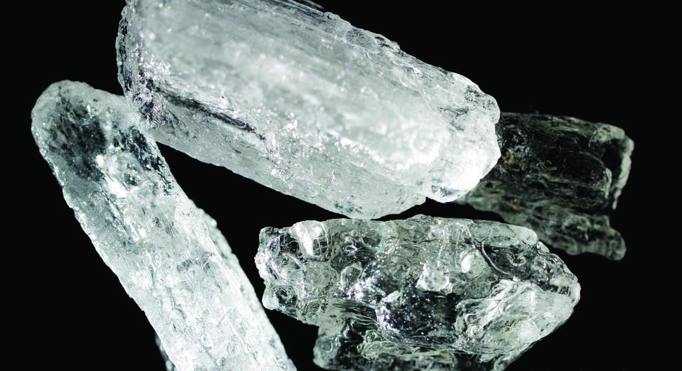 Ice crystalline methamphetamine