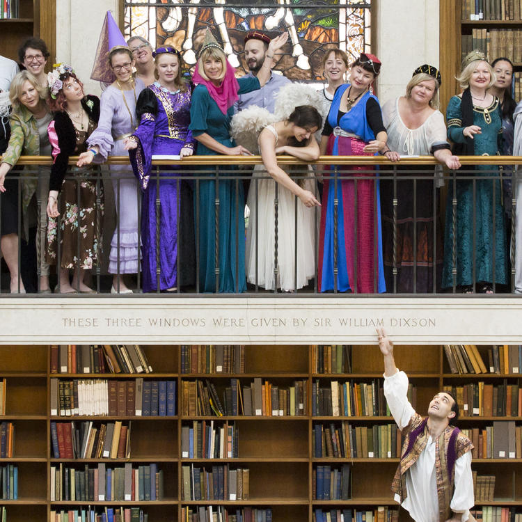 Juliet event in the Mitchell Library