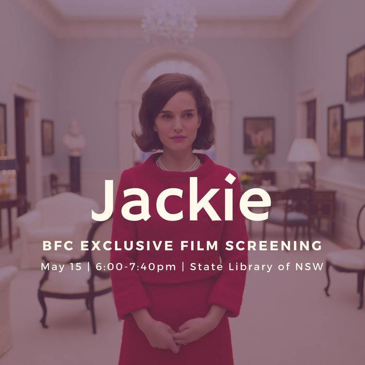 Jackie film poster