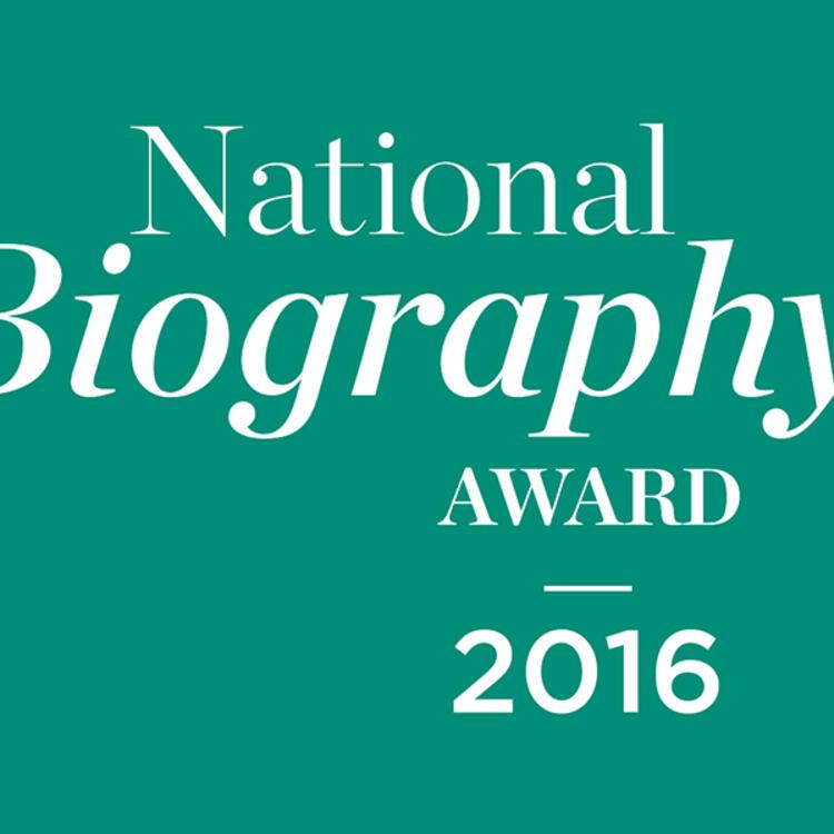 National Biography Award Logo