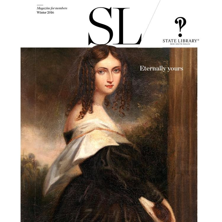 State Library Magazine Winter 2016 edition cover