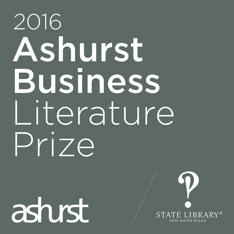 Logo Ashurst Business Literature Prize