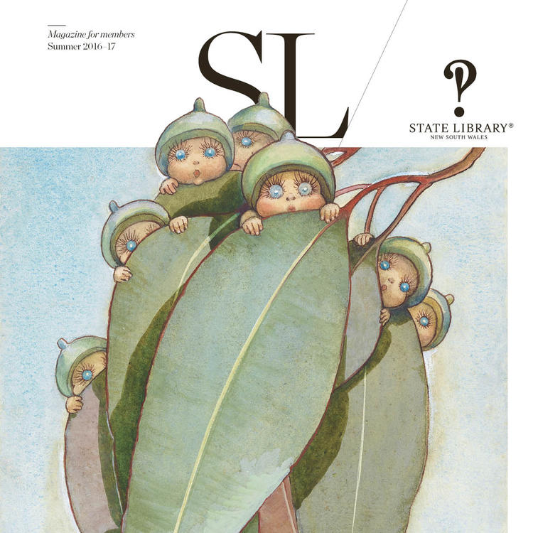 Cover for SL Magazine Spring 2016