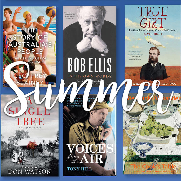 State Library great summer reads book cover collage