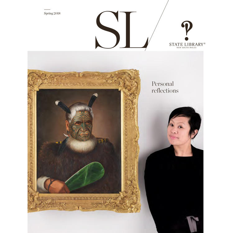 Cover of the Spring 2018 issue of the SL magazine.