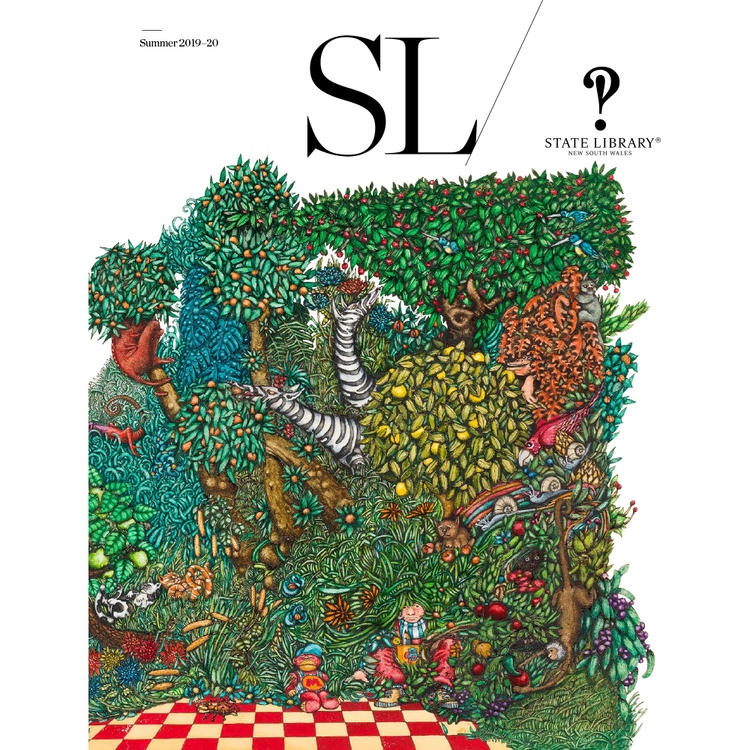 Cover of the 2019-20 edition of SL Magazine.