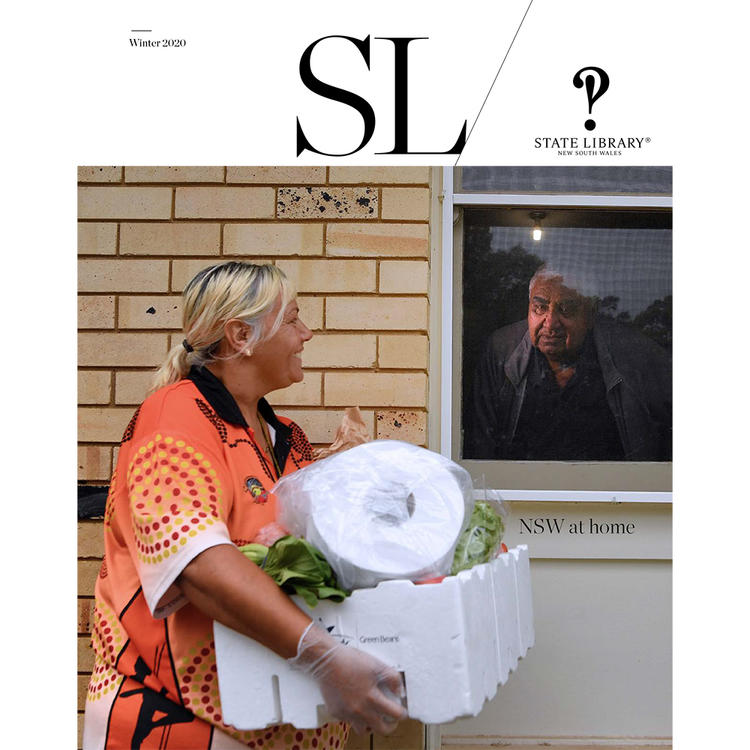 Cover of the Winter 2020 issue of SL magazine.