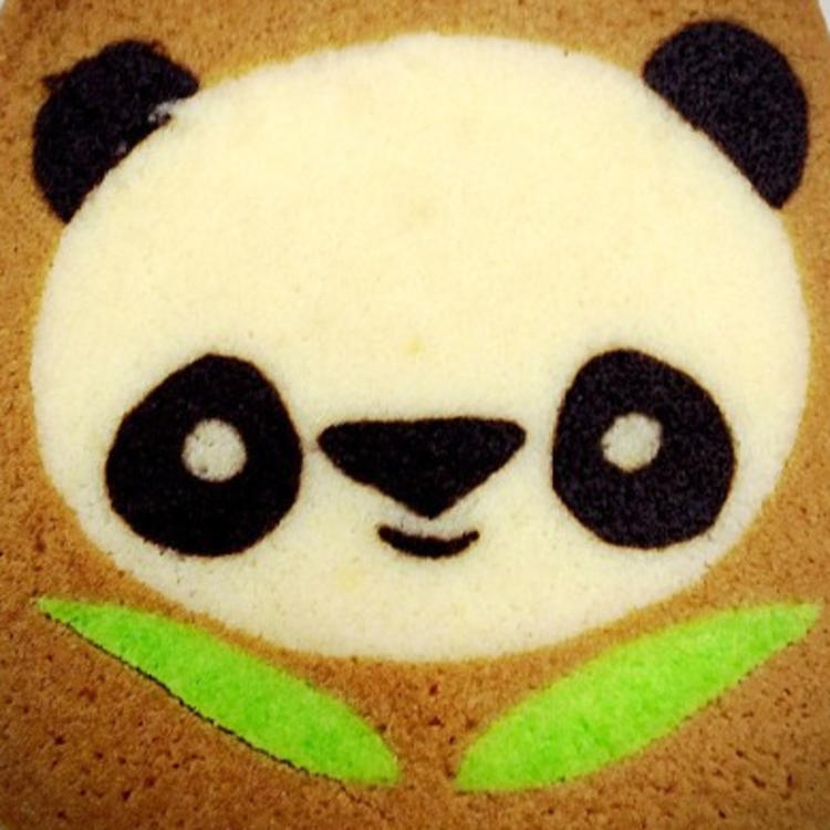 Panda Biscuit by Andrew J