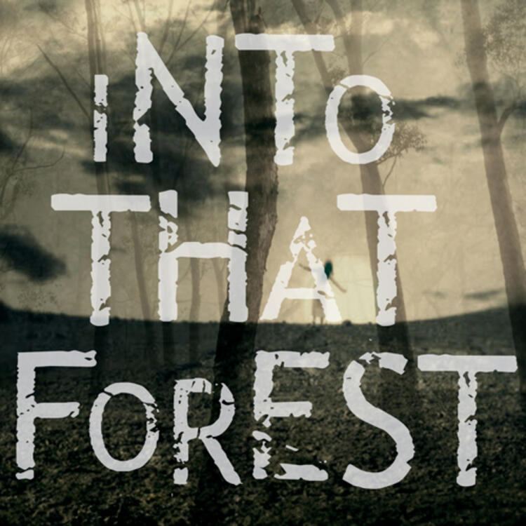Forest on book cover of Into That Forest by Louis Nowra