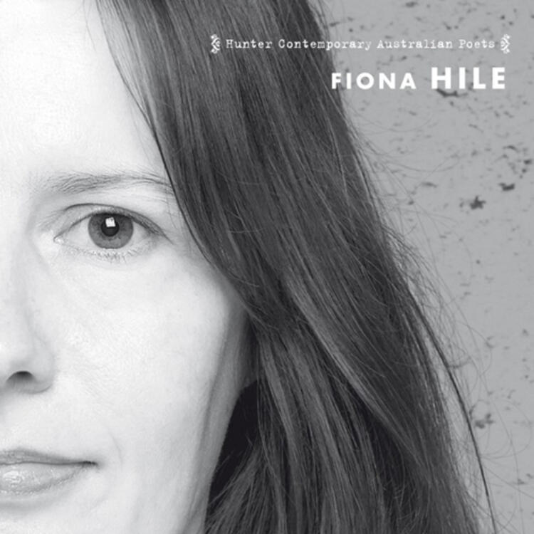 Half face of woman on book cover of Novelties by Fiona Hile