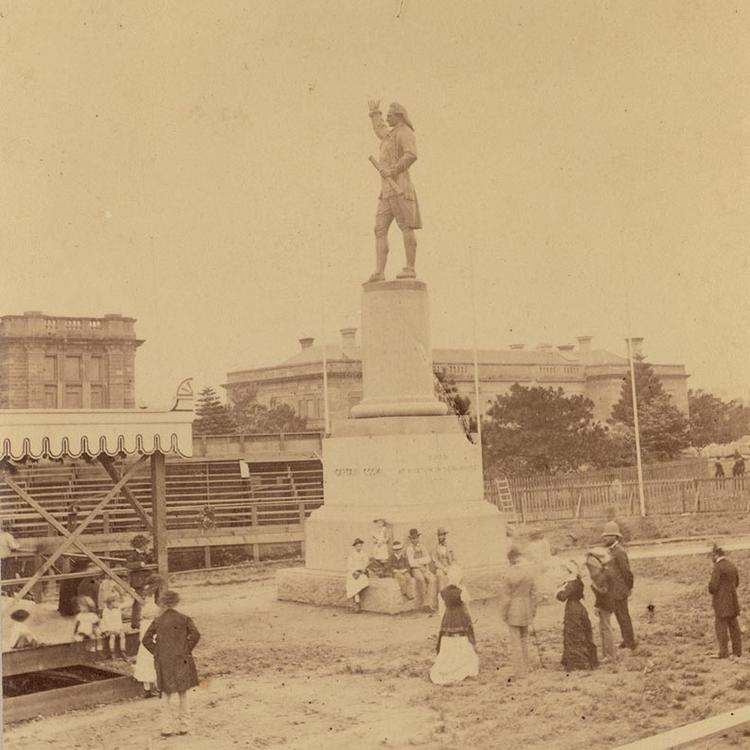 Unveiling of Captain Cook Statue, 1879