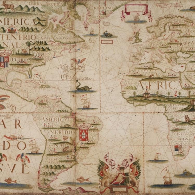 Joseph Da Costa E Miranda's World Map