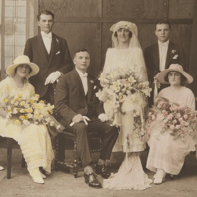 Wedding of Joseph Pavoncelli and Caterina Cioccarelli, Sydney, 22 November 1924, PXE 667/5