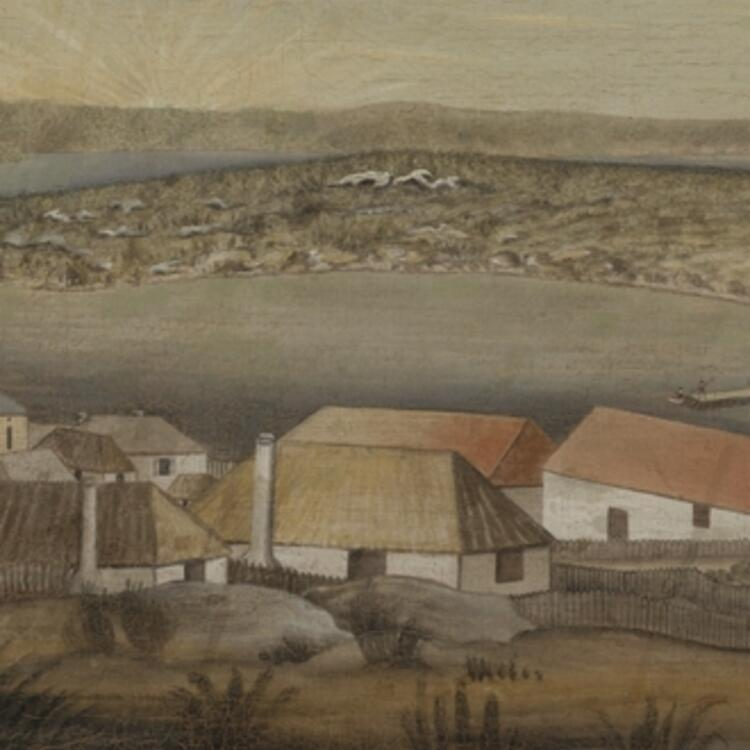 Sydney - Capital New South Wales, ca.1800
