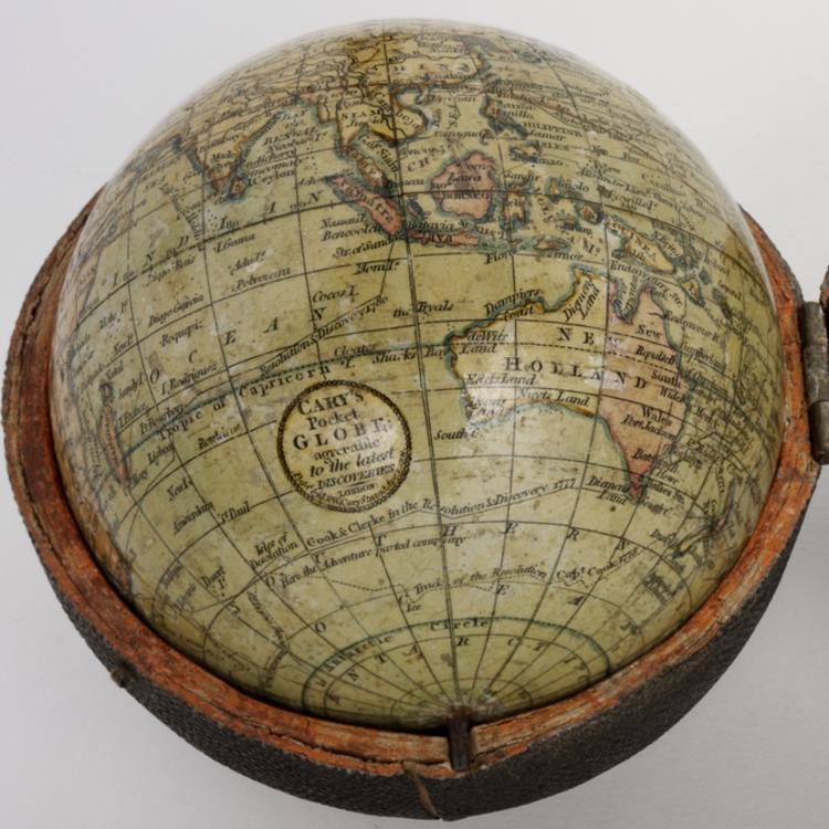 Cary's pocket globe, c1791
