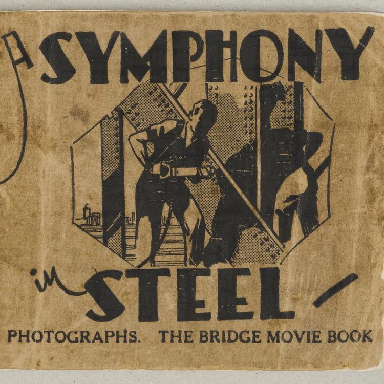 The flickascope of the Symphony in steel - the Bridge movie book