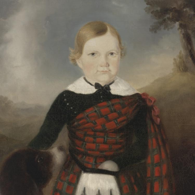[Alexander Sinclair], 1846 / oil portrait by Joseph Backler