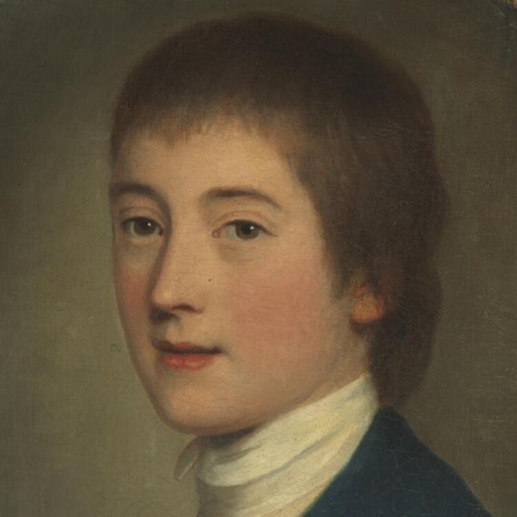 [Portrait of Midshipman Edward Riou, 1776 / by Daniel Gardner]