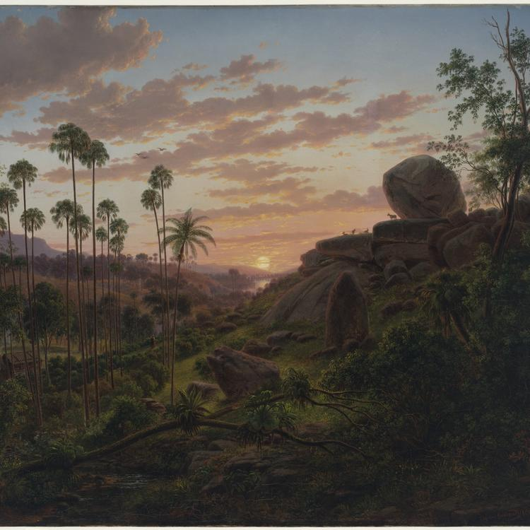 [Sunset in New South Wales], 1865 / Eugene von Guerard