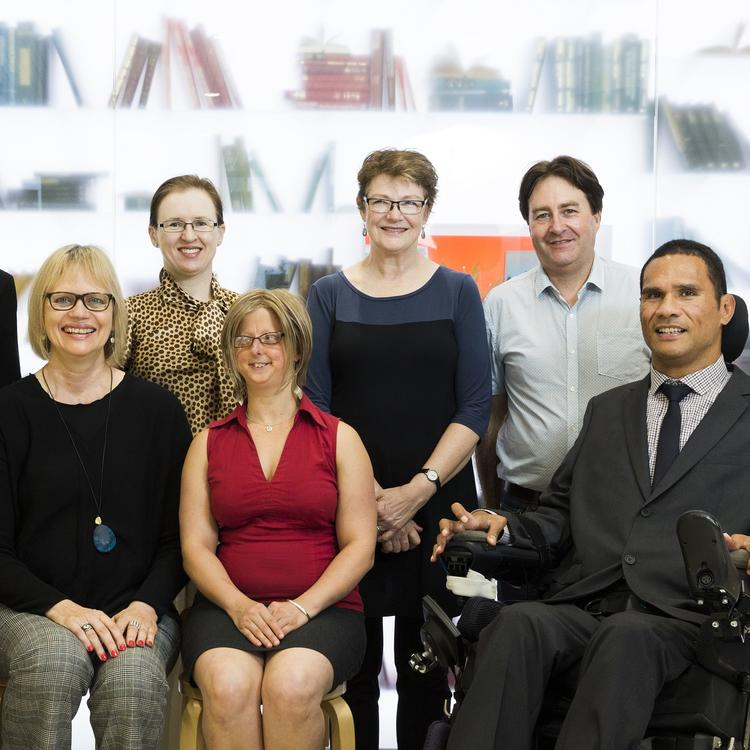 Photo of Inclusion Advisory Committee members