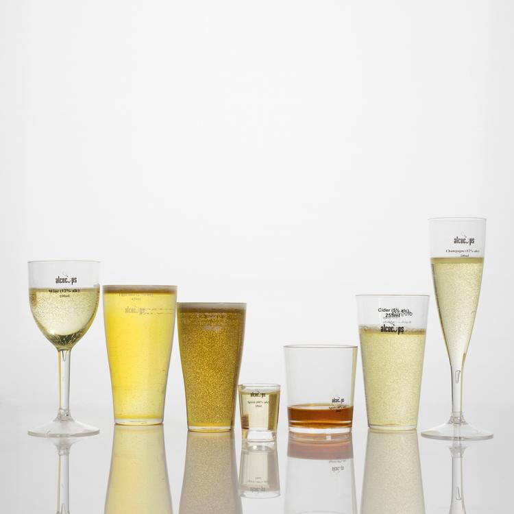 Image of Alcohol measuring cups