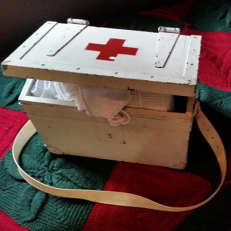 Military first aid box