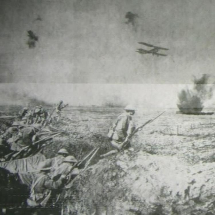 Cover image for video Animation: An episode after the Battle of Zonnebeke